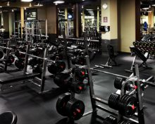 Gym in the city